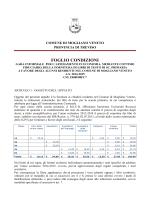 Foglio condizioni - Comune di Mogliano Veneto