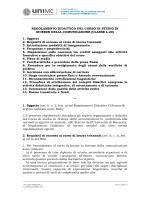 Corso di Studio in Scienze della comunicazione CLASSE L-20