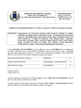 D.G. n. 24_2014 documento progettuale