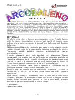 Arcobaleno Estate 2014 - Sezione Provinciale di Vercelli