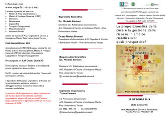 Convegno etica RRF - Ospedale di Circolo e Fondazione Macchi