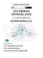 XVI TROFEO OTTOVELANTE - Lega Navale Ventotene