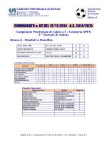 Comunicato 2 del 12-11-2014