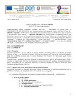 DISCIPLINARE DI GARA RDO 538120