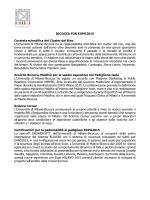 """Scheda delle iniziative """"Bicocca for Expo 2015"""""""