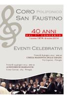 Consulta il Programma degli eventi celebrativi
