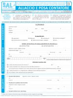 ALLACCIO E POSA CONTATORE - Società Acqua Lodigiana