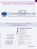 teSSeramento 2014 - Associazione Commercianti Albesi