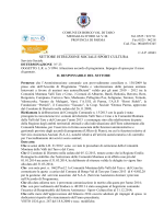 """""""LR 5/94 Attuazione accordo di programma. Impegno di spesa mese"""