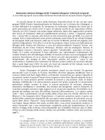"""Imminente edizione bilingue delle """"Canzoni bolognesi"""