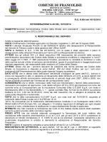 COMUNE DI FRANCOLISE