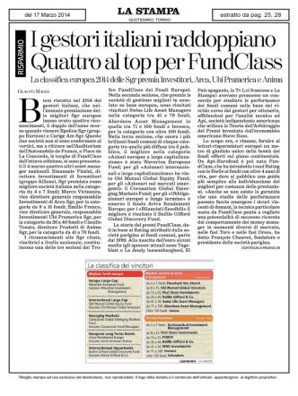 11 gestori italiani raddoppiano 1 Quattro al top per FundClass