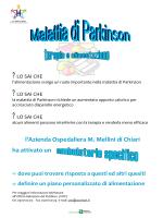 Locandina e Brochure - Ambulatorio Malattia di Parkinson.
