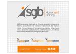 SGB Humangest Holding è un Gruppo a capitale