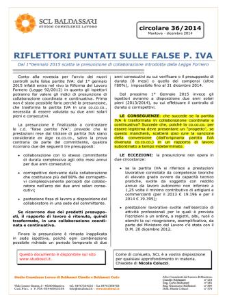 1418985354-SCL Circolare 2014-36 Riflettori puntati su false pIVA