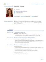 Visualizza il Curriculum Vitae completo