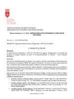 AREA EDUCAZIONE UNIVERSITA E RICERCA SERVIZI