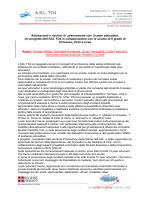 Materiale di comunicazione e informazione