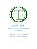 Dionisio I. - Collana EOTI