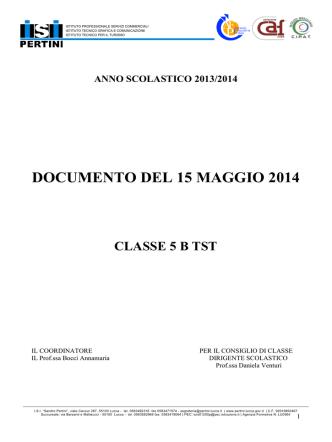 Classe 5B - Sandro Pertini