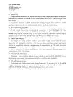 allegato E - Relazione geologica