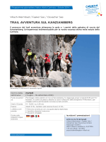 TRAIL AVVENTURA SUL KANZIANIBERG