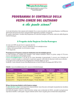 Consuntivo Dryocosmus 2014 - GAL Antico Frignano e Appennino