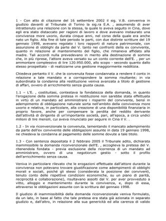 1 - Con atto di citazione del 16 settembre 2002 il sig. V.B.