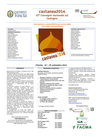 castanea2014 - Associazione castagne del Vulture