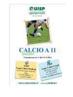 nr.3 del 19.09.2014 - Sporting Club Sassuolo