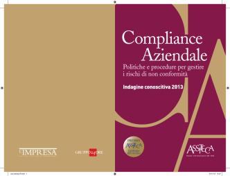Compliance Aziendale: Politiche e procedure per gestire