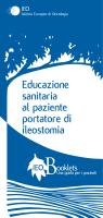 Educazione sanitaria al paziente portatore di ileostomia