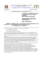 Com.N.266_Prove_INVALSI_2014_Indicazioni