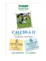 nr.7 del 16.10.2014 - Sporting Club Sassuolo