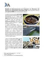 Modello di Dimensionamento per Depuratori con