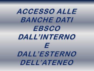 Accesso - Università degli Studi di Parma