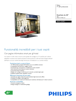 40HFL3009D/12 Philips TV LED professionale