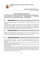 capitolato - Comune di Santa Maria Capua Vetere