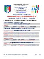 C.U. n. 79 L.N.D.-S.G.S. del 23.05.2014