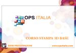Corso Stampa 3d - BASE [PROGRAMMA]