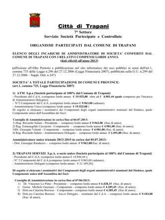 aggiornamento II semestre 2013