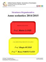 Organigramma 2014/2015