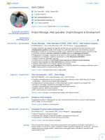 Europass CV - Contatti