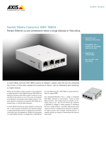 Switch Media Converter AXIS T8604