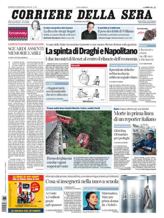 Corriere della sera - 14.08.2014