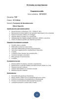 TDP Classe: IV E (Sirio)