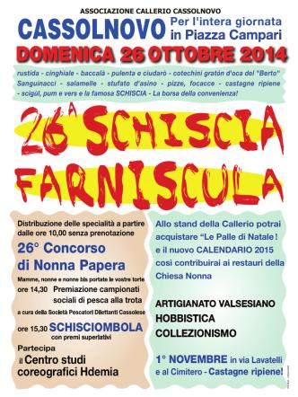 A4 schiscia.indd - Associazione Callerio di Cassolnovo