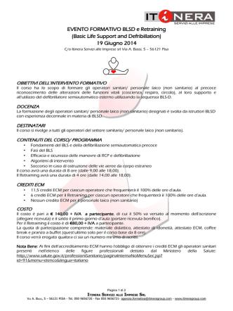 19 Giugno 2014 - ITINERA Servizi alle Imprese