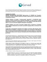 approvazione di CONSOB del Prospetto Informativo