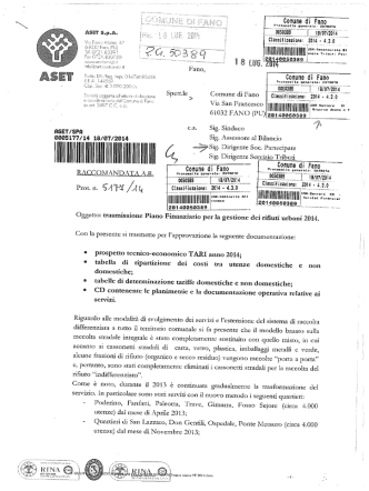 03-tariffe tari - Comune di Fano